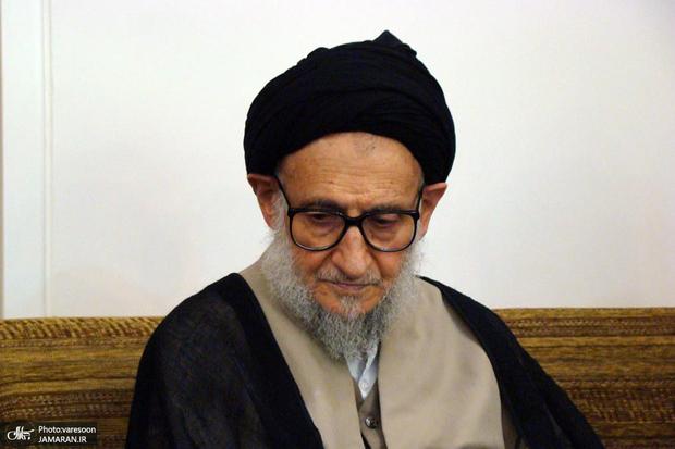 پیکر آیت الله ضیاءآبادی در تهران تشییع شد