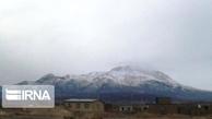 بارش برف کم سابقه در دزفول