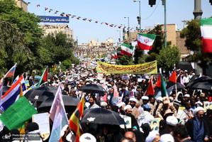 راهپیمایی باشکوه روز جهانی قدس در قم - 6
