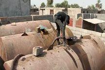 15 هزار لیتر فرآوردههای نفتی قاچاق در بوشهر کشف شد