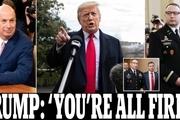 تصفیه حساب ترامپ با کسانی که برای استیضاحش شهادت دادند: اخراج دو مقام از کاخ سفید