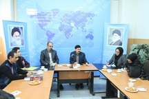 دانشجویان روابط عمومی از خبرگزاری ایرنا قزوین بازدید کردند