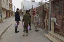 انجام اقدامات مقابله با کرونا توسط نیروهای جهادی و بسیجی در دلفان