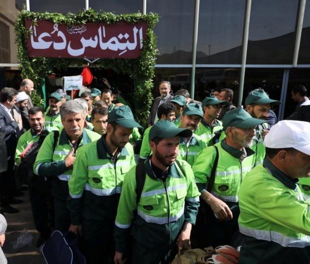 کاروان خدماتی شهرداری مشهد عازم عراق شد