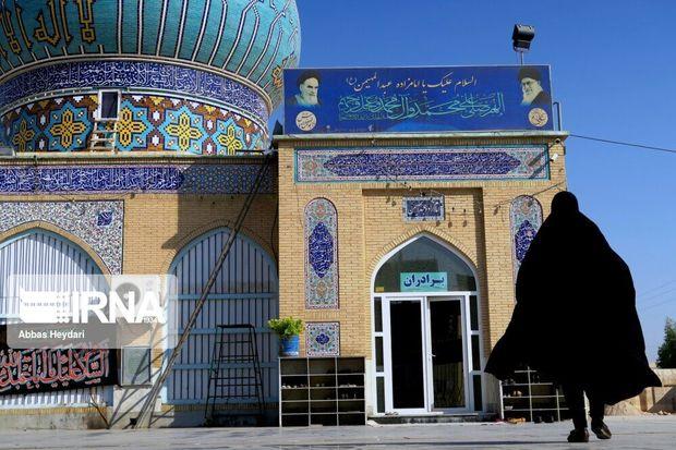 طرح سوگواره بصیرت عاشورایی در ۷۲ بقعه متبرک استان بوشهر آغاز شد