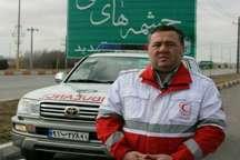 امدادگران هلال احمر اردبیل به 108 نفر حادثه دیده کمک کردند