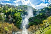 جاذبه گردشگری آبشار «شلماش» سردشت ساماندهی می شود