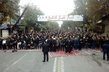 نماز ظهر عاشورا در استان گلستان اقامه شد