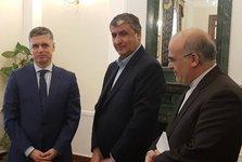 وزیر راه پیام تسلیت رییسجمهور را به همتای اوکراینی خود رساند