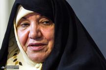 اعضای فراکسیون زنان مجلس به ملاقات اعظم طالقانی رفتند