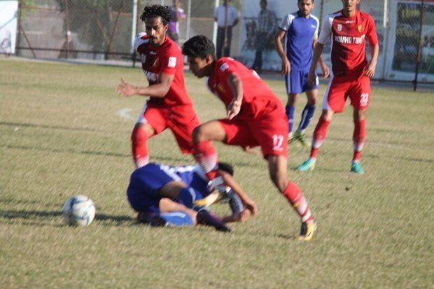 تداوم صدرنشینی تیم فوتبال جوانان سپیدرود با کسب پیروزی خانگی