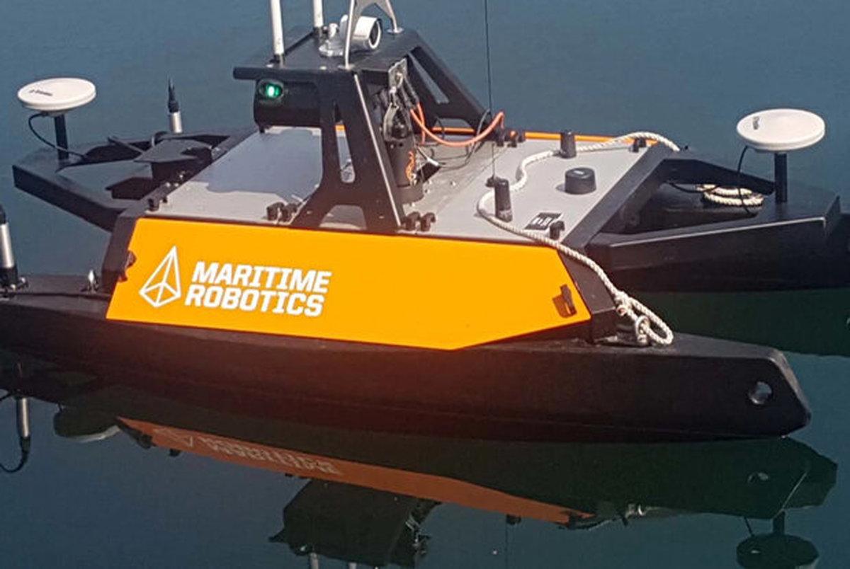 قایق رباتیک از بستر دریا نقشه برداری می کند