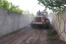 11 هزار متر مربع از اراضی کشاورزی لواسان آزاد سازی شد