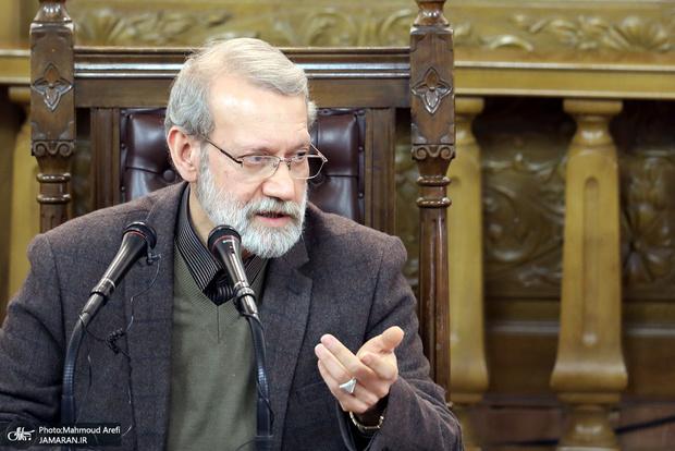 علی لاریجانی: برخی به هر بهانهای میخواهند صفوف ملت را متفرق کنند