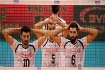 برنامه بازی های تیم ملی والیبال ایران در دور دوم رقابت های جهانی
