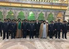 قادة القوة الجویة فی الجیش الایرانی یجدّدون میثاقهم مع الإمام الخمینی