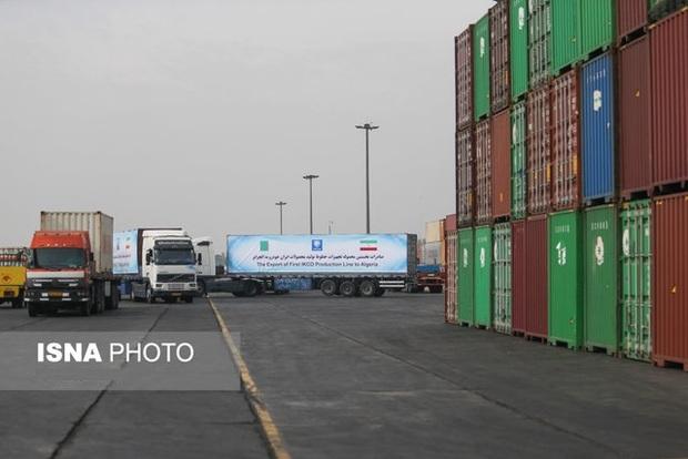 ارزش صادرات از گمرکات آذربایجان غربی 77 درصد افزایش یافت