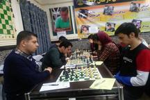 قهرمانان مسابقات بلیتس همدان معرفی شدند