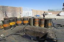 28 هزار لیتر سوخت قاچاق در اشنویه کشف شد