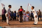 برگزاری المپیک کودکان آواره در سوریه برای فرار از جنگ+ تصاویر