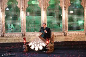 مراسم احیای شب بیست و یکم ماه مبارک رمضان در حرم امام خمینی(س)