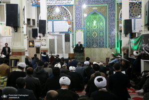 مراسم بزرگداشت فرزند حجت الاسلام والمسلمین نخبه