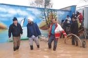 امدادرسانی به افراد گرفتار در سیل در ۱۰۴ روستای لرستان
