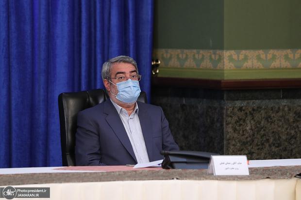 وزیر کشور: اجرای محدودیتهایی که مصوبه ستاد ملی کرونا است، حکم قانون را دارد