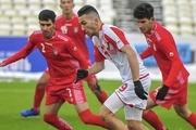 ناکامی دوباره برای تیم ملی فوتبال جوانان/ توقف شاگردان مهابادی مقابل تاجیکستان