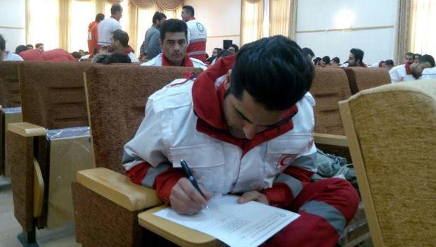مسابقات تخصصی امداد و نجات هلال احمر در قوچان آغاز شد