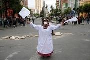 ادامه ناآرامی ها در بولیوی و درگیری هواداران مورالس با پلیس