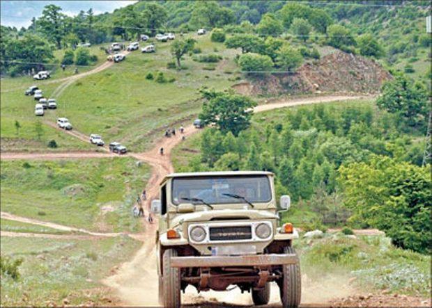ورود آفرود سواران به منابع طبیعی البرز ممنوع