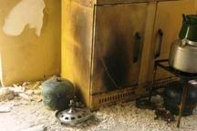انفجار گاز پیک نیک در تاکستان حادثه آفرید