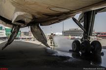 کابوس مرگ در پرواز مشهد - تبریز  هر 3 لاستیک هواپیما ترکید