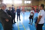 بازدید صالحی امیری از کمپ تمرینات مجازی کاروان اعزامی به المپیک ۲۰۲۰