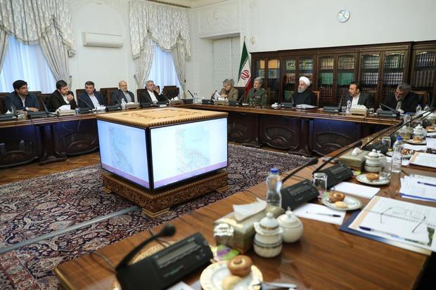 با حضور رئیسجمهور جلسه هماهنگی سفر کاروان تدبیر و امید به استان گیلان برگزار شد