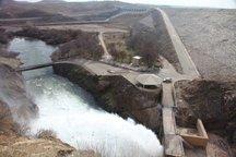 رهاسازی آب از سد شهید کاظمی به ۳۵۰ مترمکعب می رسد