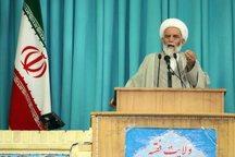 امام جمعه همدان: تحریم های جدید علیه ایران به دلیل قدرت نظامی جمهوری اسلامی است