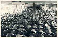 19 بهمن 1357: نسخه صوتی سخنان و قطعنامه پرسنل نیروی هوایی در حضور امام خمینی(س)