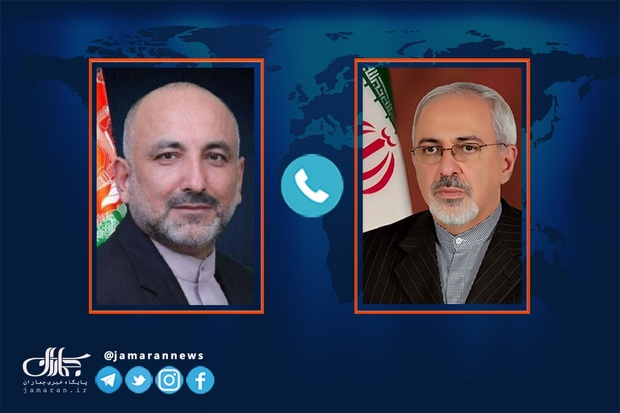رایزنی ظریف و سرپرست وزارت خارجه افغانستان