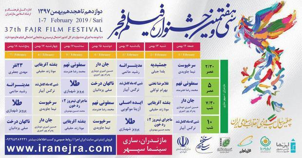 تعداد فیلم های قابل اکران سودای سیمرغ در مازندران به 13 رسید