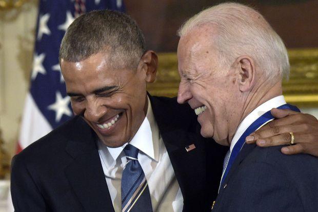 «شال و کلاه» اوباما برای حمایت از بایدن