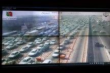 ترافیک در مسیرهای ورودی تهران نیمه سنگین است