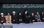 مراسم عزاداری شب شهادت حضرت فاطمه زهرا (س) در حسینیه امام خمینی