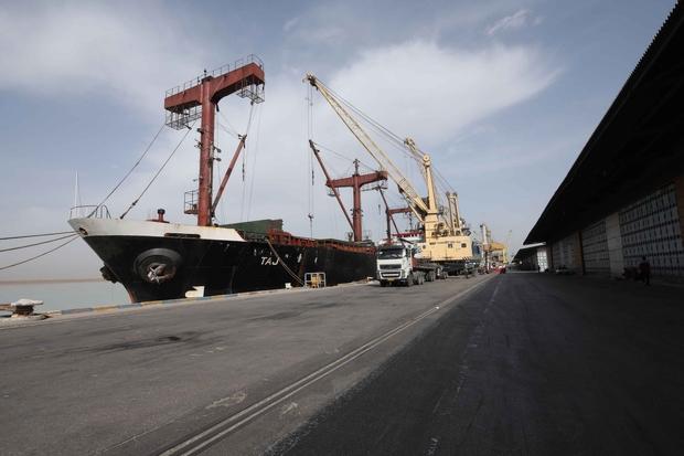 واردات بیش از یک میلیون تن غلات از بندر امام خمینی