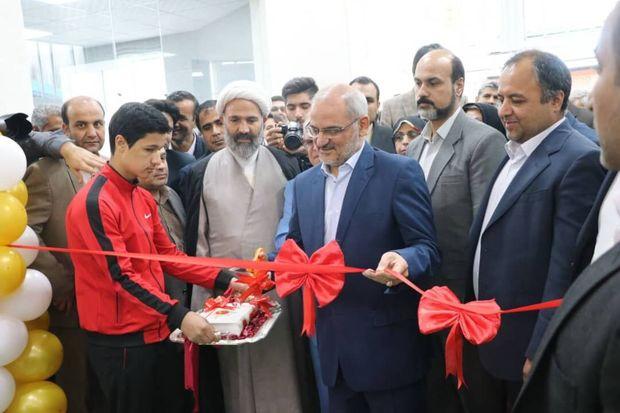۱۵۶ پروژه ورزشی در کشور با حضور وزیر آموزش و پرورش افتتاح شد
