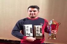 ورزشکار بوکانی به مقام سوم رقابت اتومبیلرانی آفرود کشور رسید