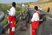 هلال احمر همدان به 39 مصدوم سوانح جاده ای امدادرسانی کرد