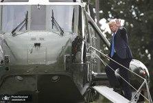 جنجال ماسک زدن رئیس جمهور آمریکا+ تصاویر