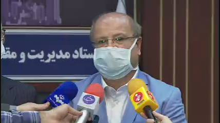 شیب ابتلا به کرونا در تهران نزولی شد